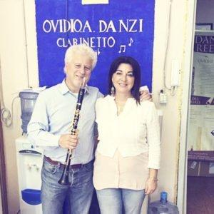 Massimo Mazzone con le nostre ance per clarinetto - Massimo Mazzone and our Reeds for clarinet