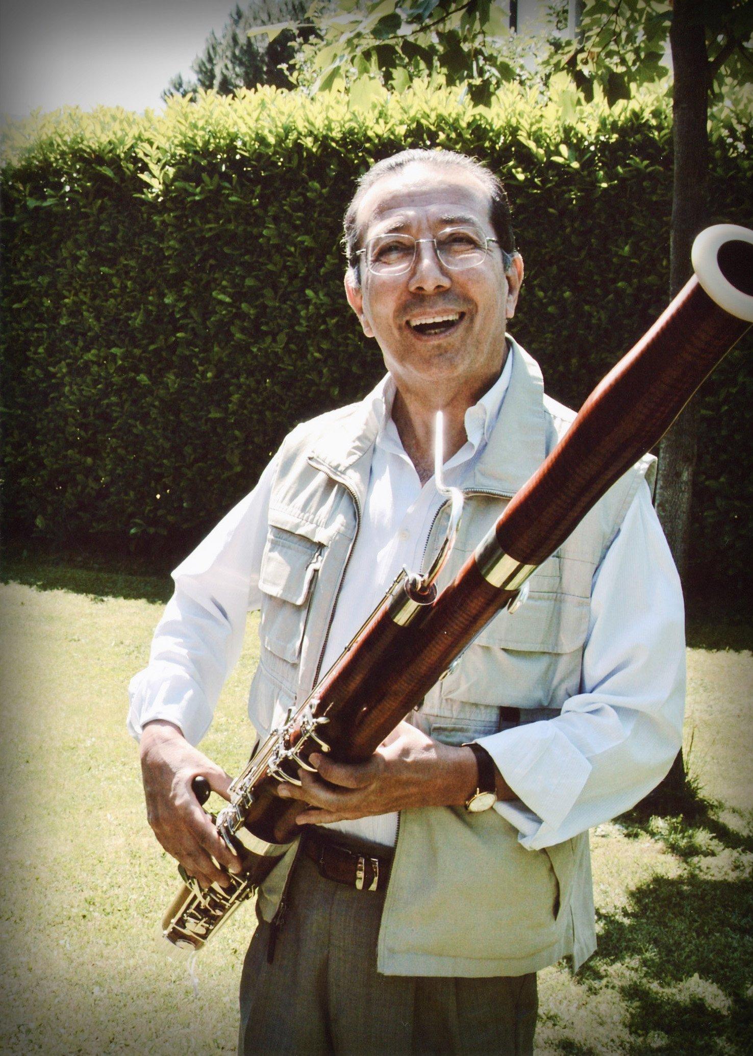 Ovidio Danzi di Danzi Reeds, maestro nella costruzione di ance per fagotto, oboe e clarinetto - Ovidio Danzi from Danzi Reeds, master canes for bassoon, oboe and clarinet