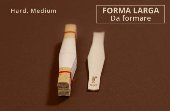 Canna Fagotto Larga da Formare - Medium Hard