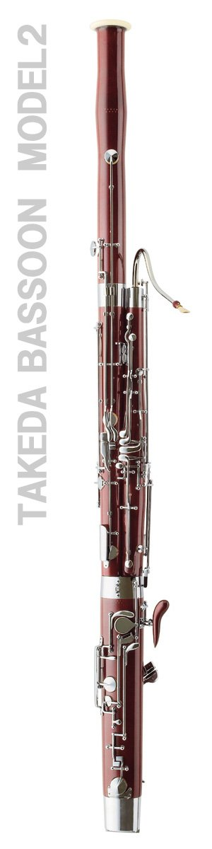 Takeda Bassoon modello 2, Danzi Reeds è unico importatore e rivenditore autorizzato - Takeda Bassoon model n.2 Danzi Reeds is the only importer and seller