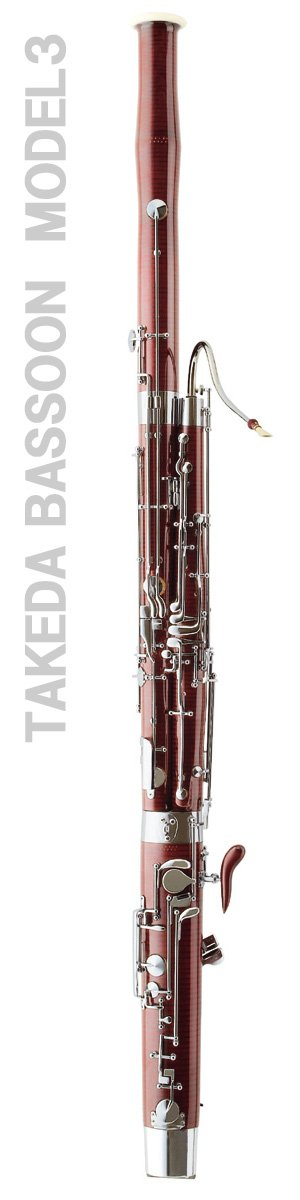 Takeda Bassoon modello 3, Danzi Reeds è unico importatore e rivenditore autorizzato - Takeda Bassoon model n.3. >Danzi Reeds is the only importer and seller