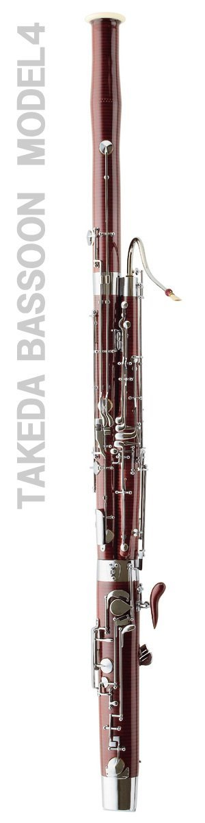 Takeda Bassoon modello 4, Danzi Reeds è unico importatore e rivenditore autorizzato - Takeda Bassoon model n.4. >Danzi Reeds is the only importer and seller